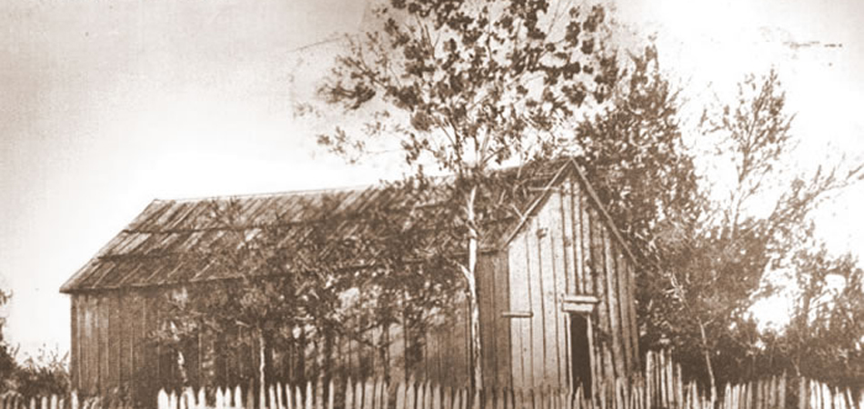 First House Built in Birmingham, Alabama, 1869